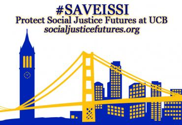 Logo for campaign to save ISSI
